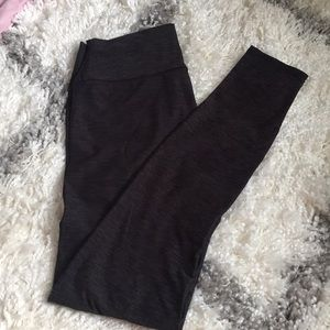 black pants with a pattern